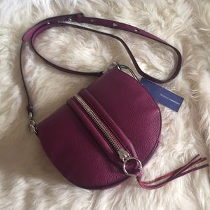 💞👜Rebecca Minkoff Mara saddle cross-body bag👜💞